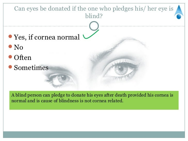 Eye Donation Quiz