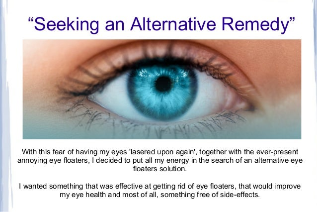 When To Worry About Eye Floaters