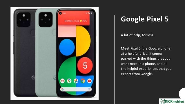Eyeing a Google Pixel Smartphone. Get it delivered from KickMobiles® Slide 3