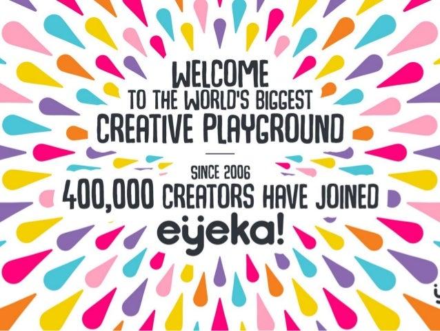 Meet eÿeka's community of 400.000 creators