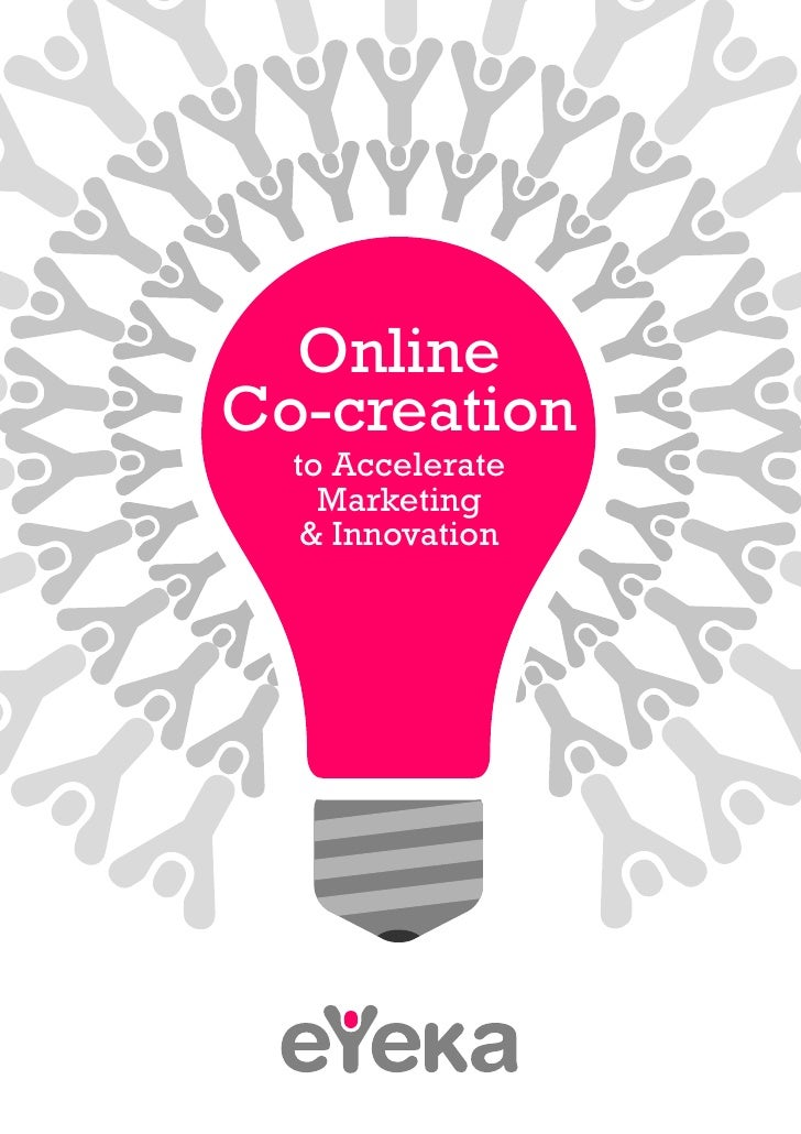 OnlineCo-creation  to Accelerate    Marketing   & Innovation