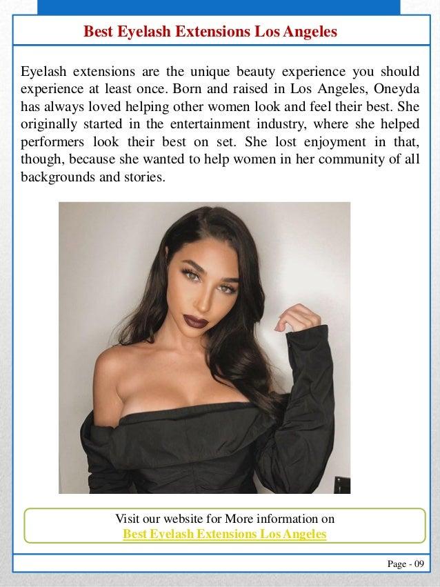 Eyelash Extensions Los Angeles