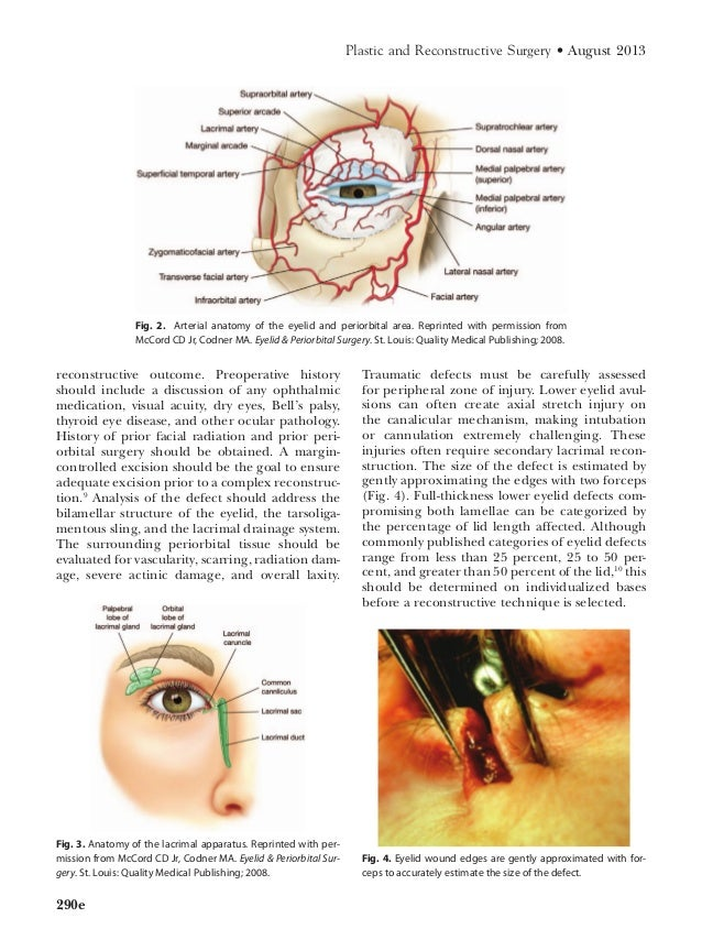 Eyelid Reconstruction CME Article Dr. McClellan