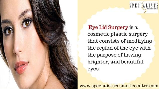 Eyelid Surgery Cochin Slide 2