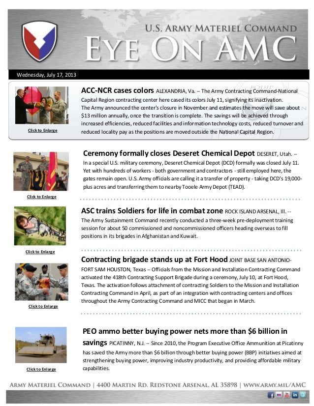 Wednesday, July 17, 2013 Click to Enlarge Click to Enlarge Click to Enlarge Click to Enlarge PEO ammo better buying power ...