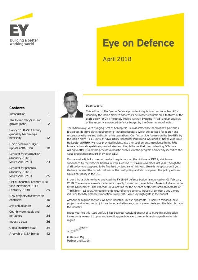 Eye On Defence April 2018