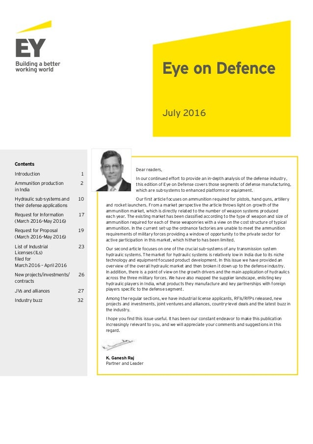 Eye on defence July 2016