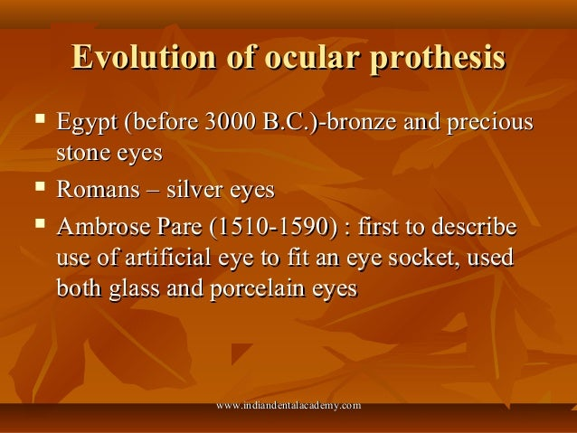ocular prothesis John pacey-lowrie ltd prosthetic eye clinic, uk john has been an ocularist for over 40 years and is still incredibly caring and passionate about his patients.