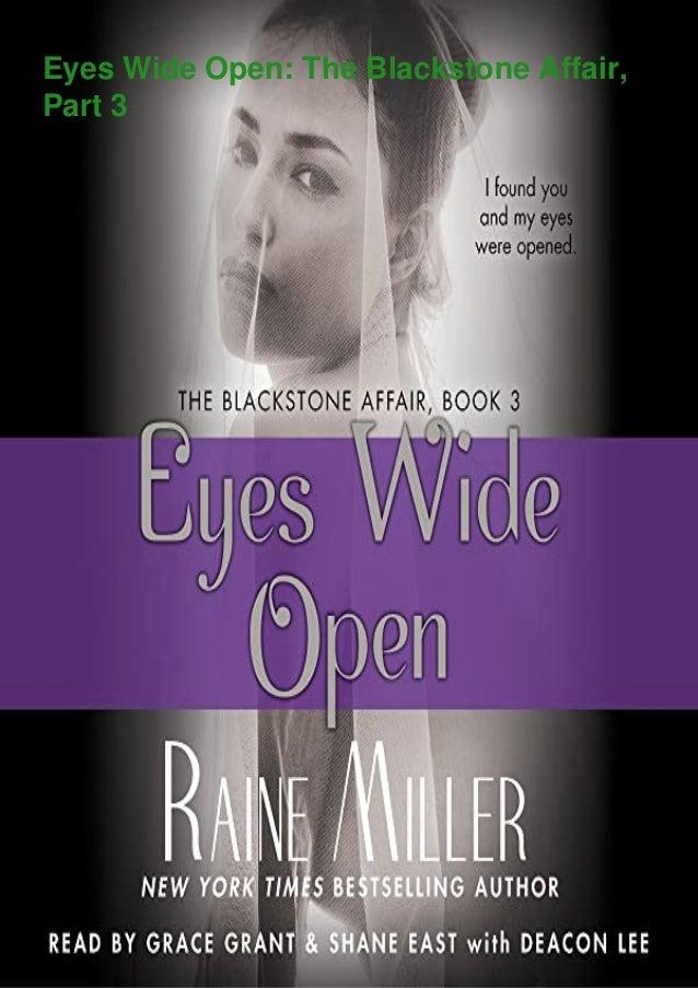 Eyes Wide Open: The Blackstone Affair, Part 3