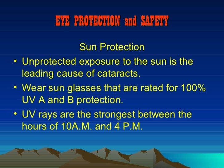 Eye Safety Presentation