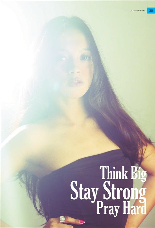 38 Stay Strong Think Big Pray Hard