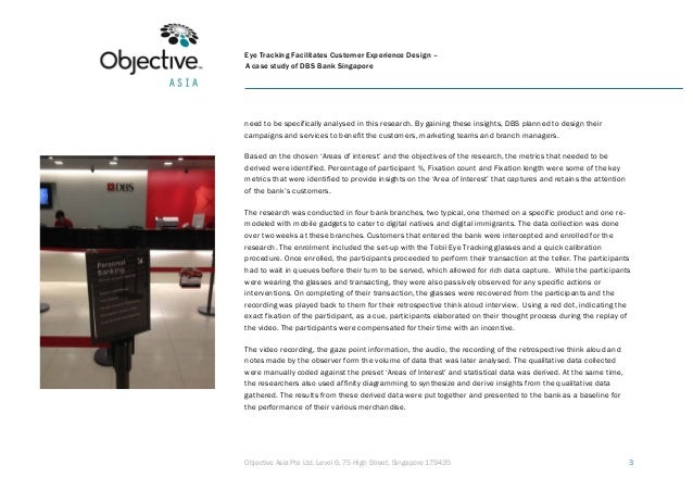 Eye tracking facilitates customer experience design a case study of DBS Bank Singapore Slide 3