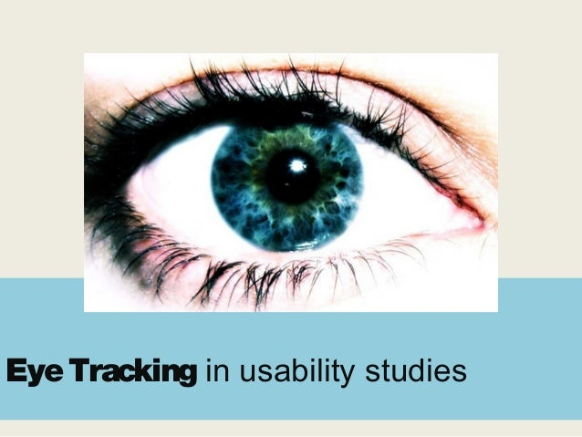 EyeTracking in usability studies