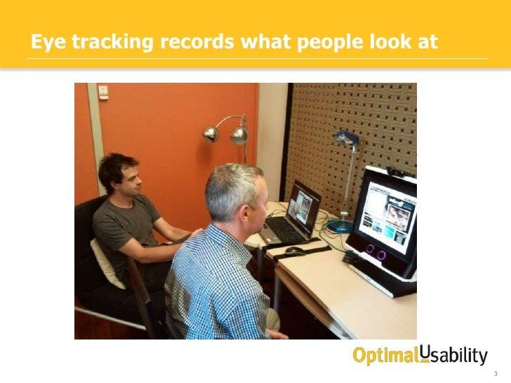 Eye Tracking & User Research Slide 3