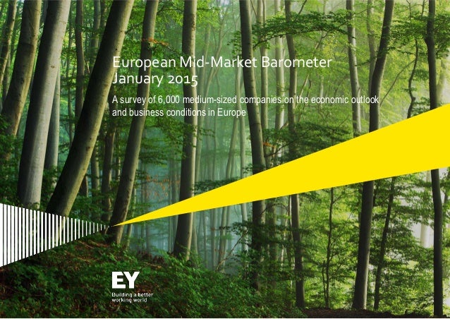 Page 1 European Mid-Market Barometer January 2015 A survey of 6,000 medium-sized companies on the economic outlook and bus...