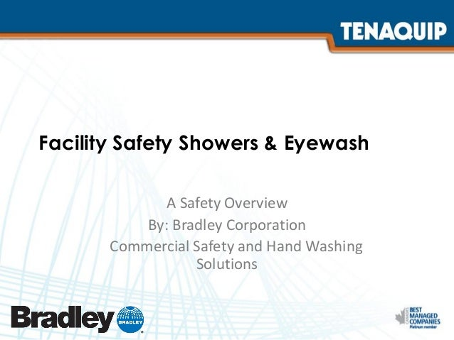 Facility Safety Showers And Eyewash Safety Solutions
