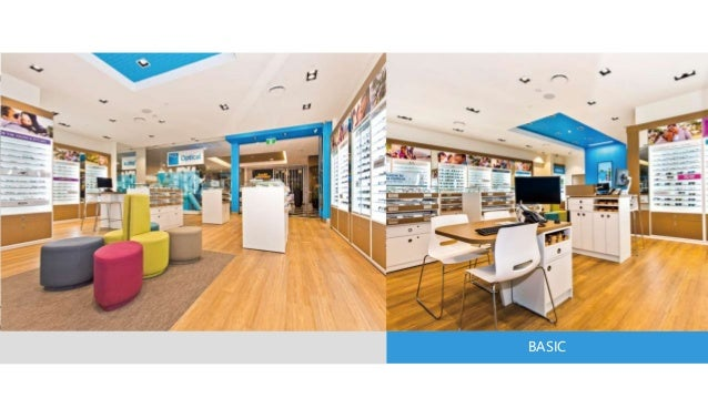 Super u eyewear retail store interior design solutions for Interior design solutions