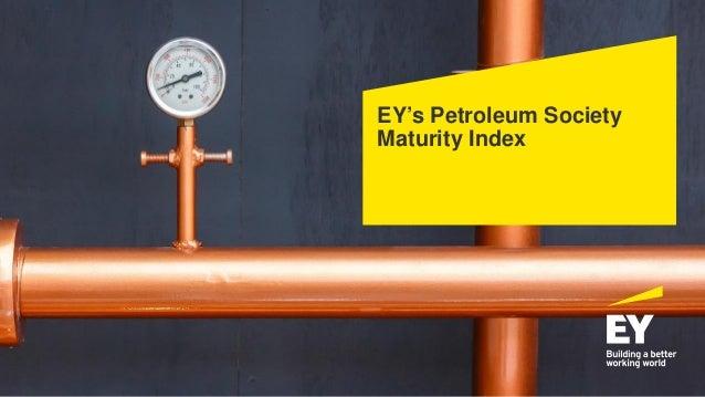 EY's Petroleum Society Maturity Index