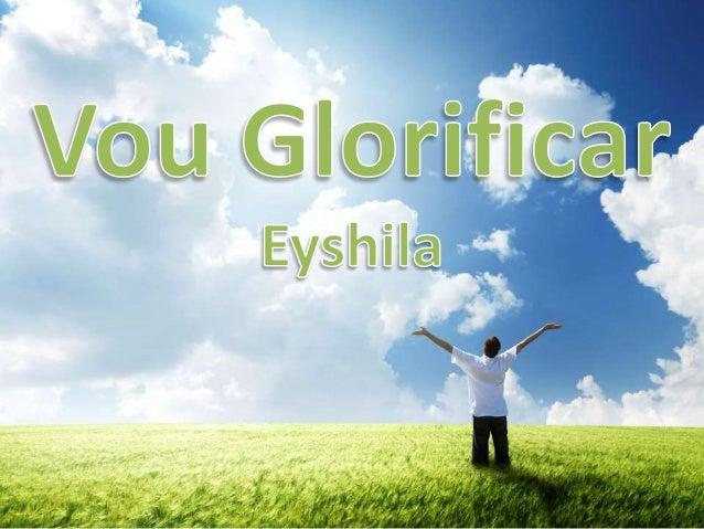 Eyshila - Vou Glorificar Versão 1