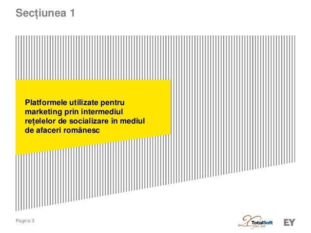 Social media si mediul de afaceri romanesc 2014  Slide 3