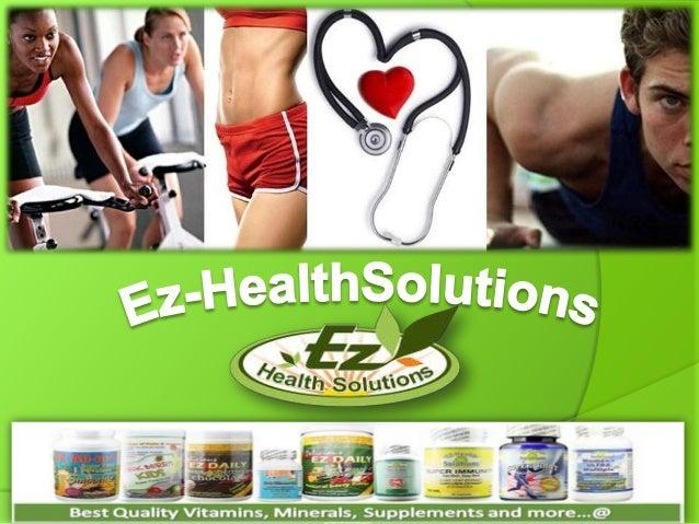 Ez health solutions