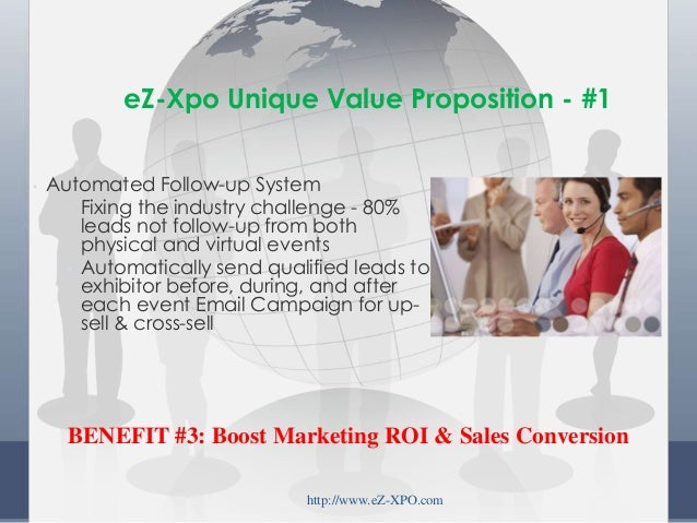 • Automated Follow-up System • Fixing the industry challenge - 80% leads not follow-up from both physical and virtual even...
