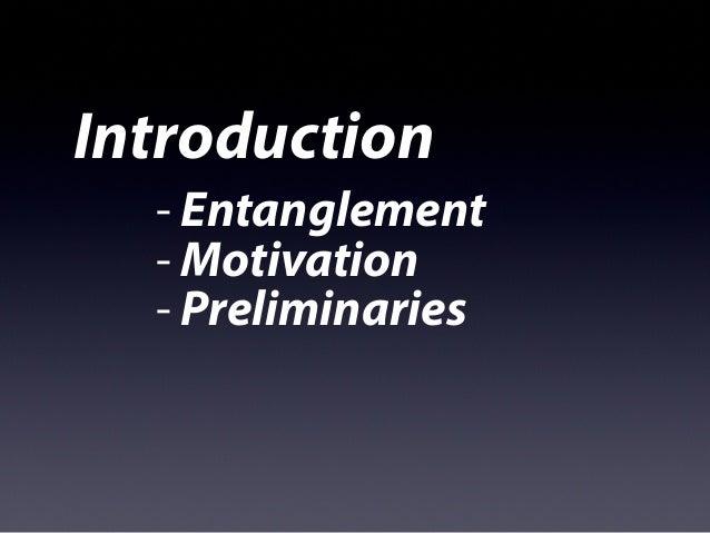 Entanglement Behavior of 2D Quantum Models Slide 3