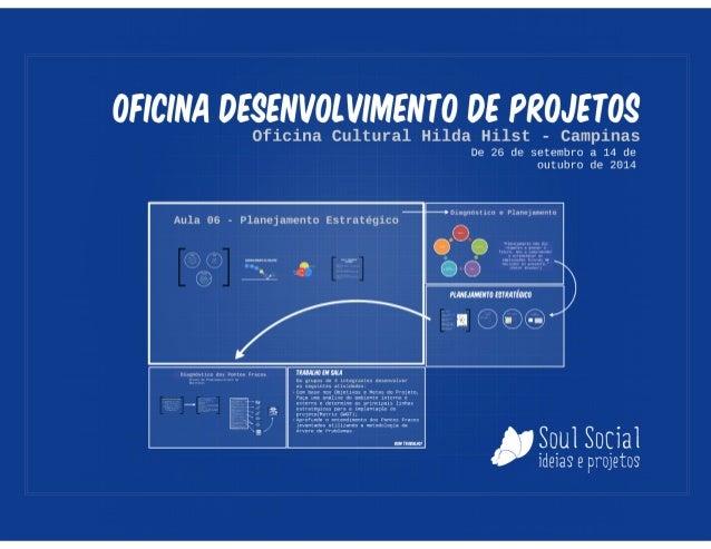 Oficina de Projetos  - Aula 06 - Planejamento Estratégico