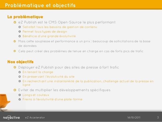 eZ publish - Publication instantanée et fort trafic web Slide 3