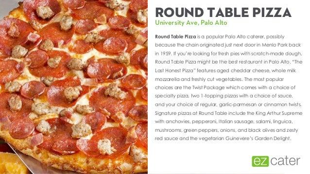Palo Alto Pizza Delivery Journal Edmonton