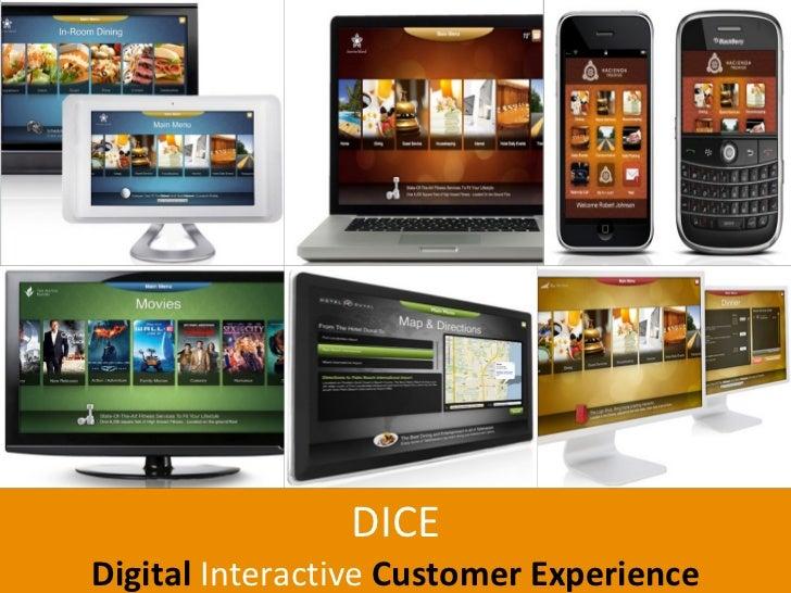 DICE Digital   Interactive  Customer Experience