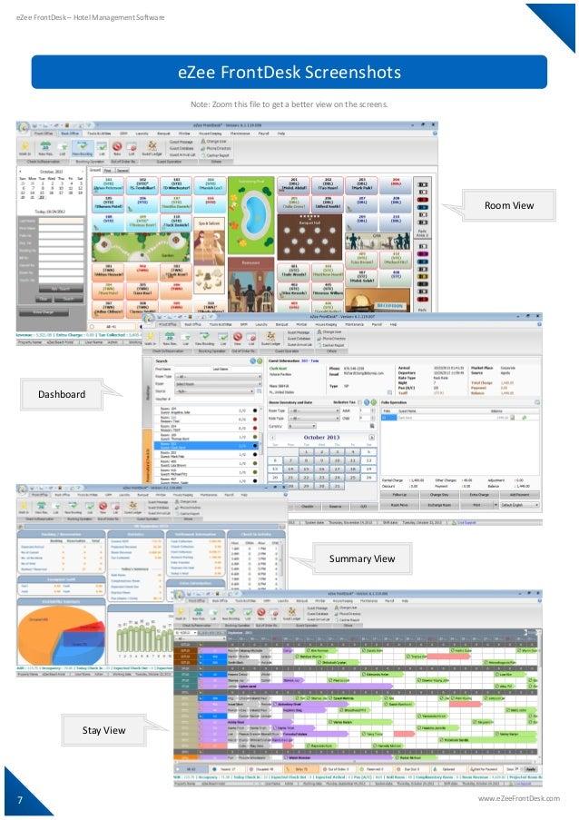 Front Desk Software For Hotel
