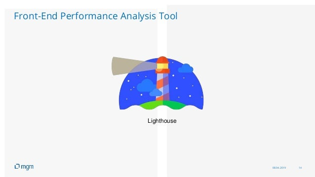 08.04.2019 14 Front-End Performance Analysis Tool Lighthouse
