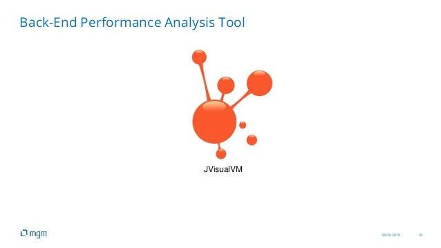 08.04.2019 18 Back-End Performance Analysis Tool JVisualVM