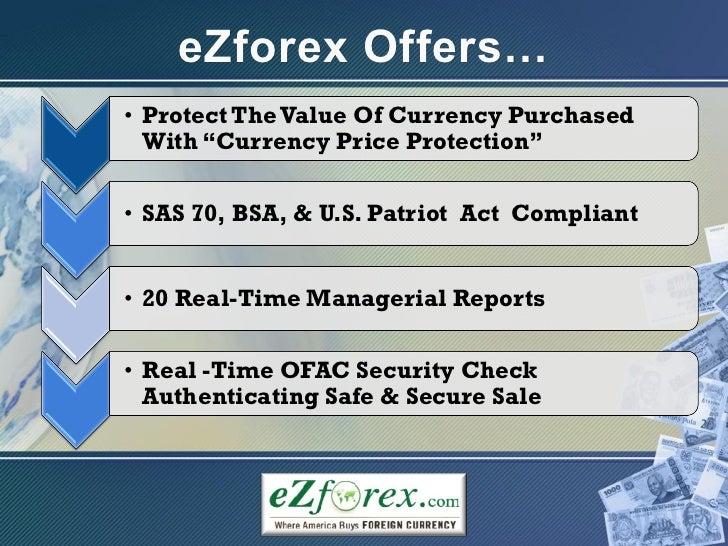 Ezforex rates