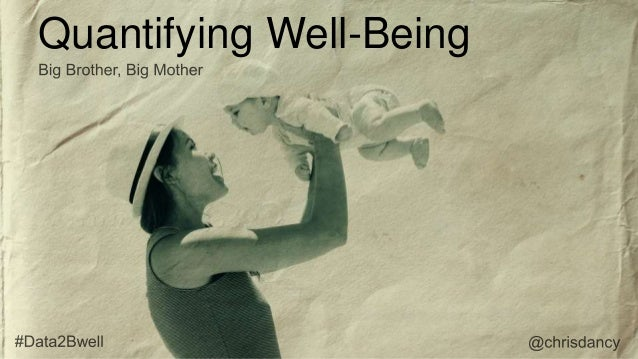 Quantifying Well-Being