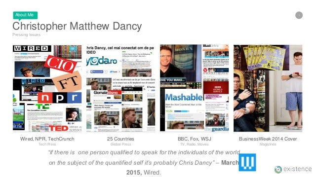 3 Christopher Matthew Dancy Pressing Issues BusinessWeek 2014 Cover Magazines BBC, Fox, WSJ TV, Radio, Movies 25 Countries...