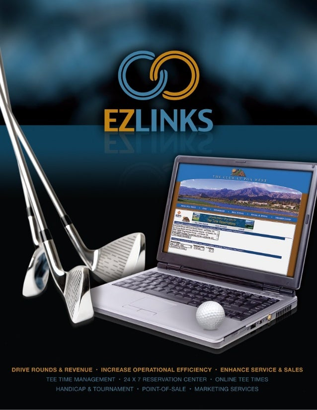 EZLinks has been providing valuable software and                                     EZLinks Tee Sheet Network Report Gene...