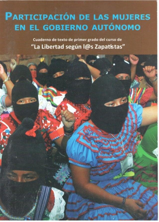 Ezln  participacion de las mujeres