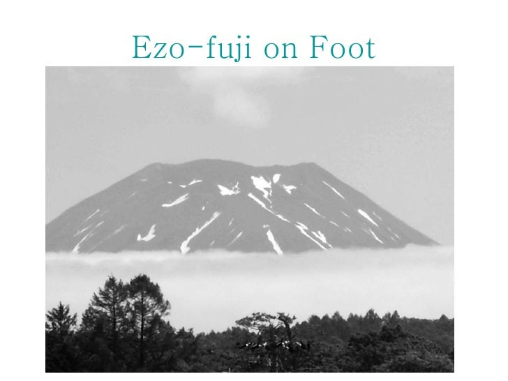 Ezo-fuji  on Foot