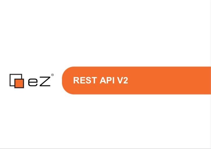 REST API V2