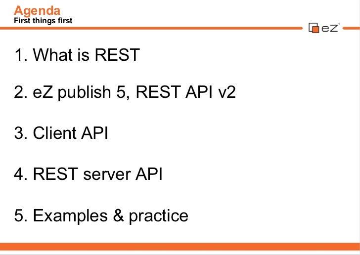 eZ Publish REST API v2 Slide 3