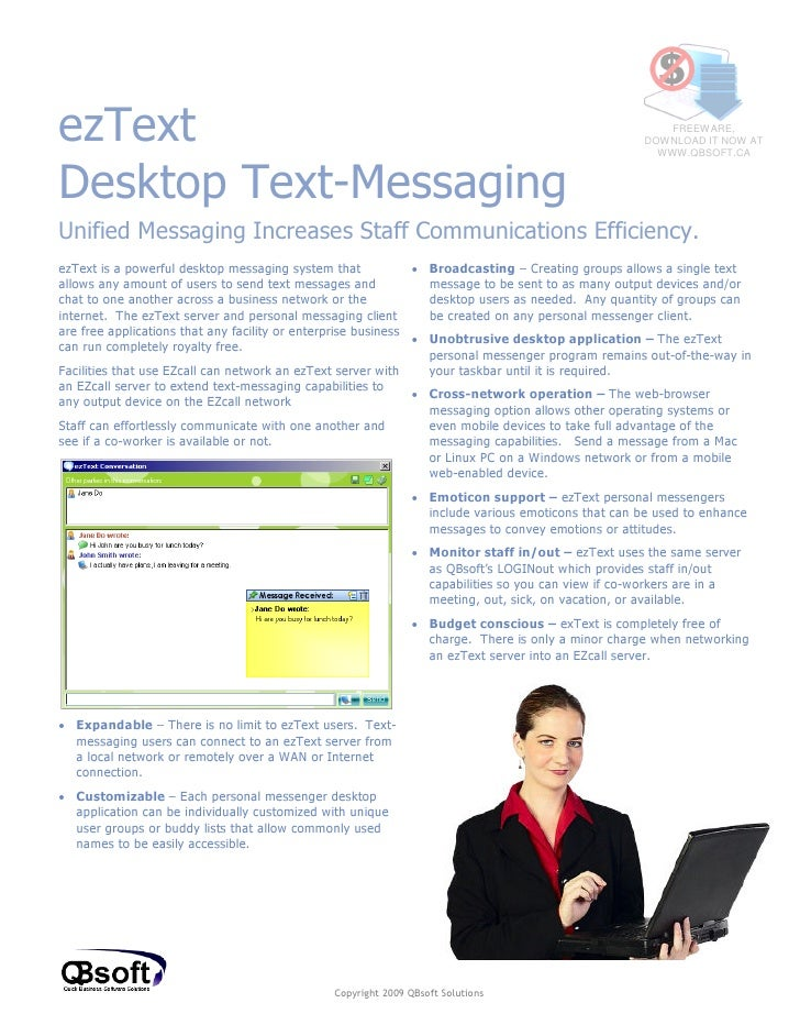 ezTextDesktop Text-Messaging                                                                                              ...