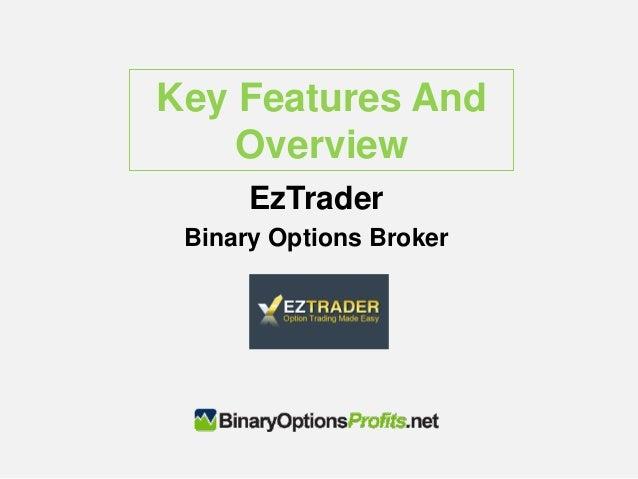 Eztrader binary options