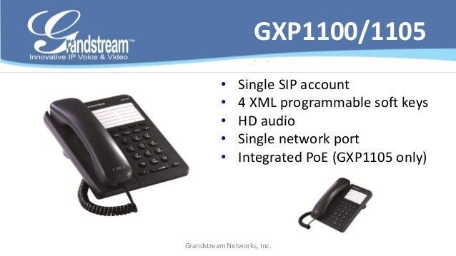 GXP2124v2              • 4 lines keys and 4 SIP accounts              • 24 + 4 BLF hard keys              • 5-way conferen...