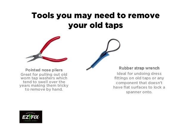 Ezyfix modern lever wall taps installation instructions