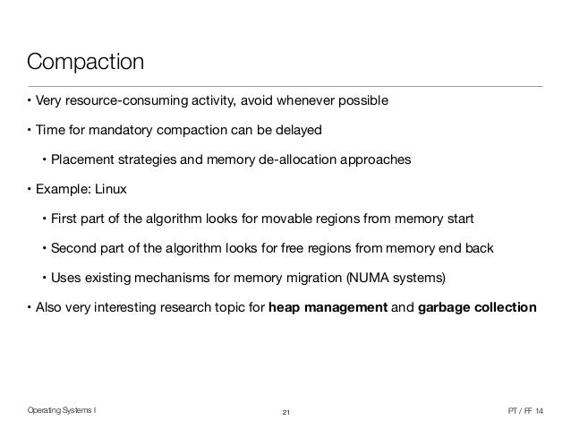 research paper on memory management in operating system