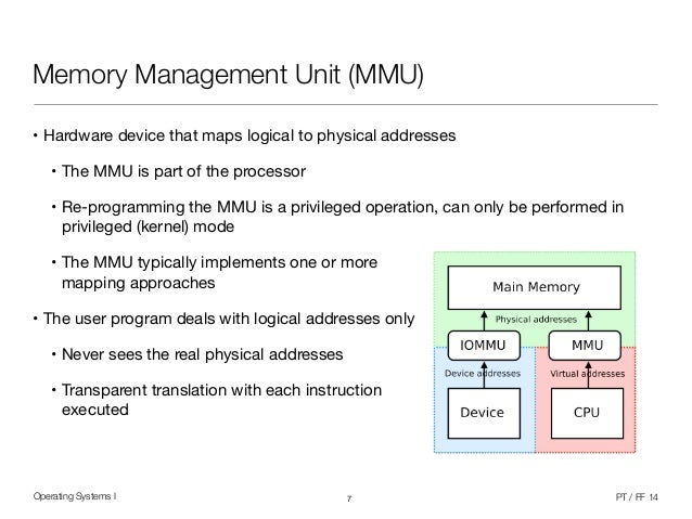 mobile operating system memory management Memory management file storage to and single application' operating system does not have to deal with networking because memory is such a limited resource on mobile phones, their operating systems require a more efficient memory management kernel as opposed to those running on pcs.