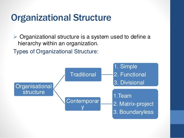 Organization Structure & Corporate Social Responsibility