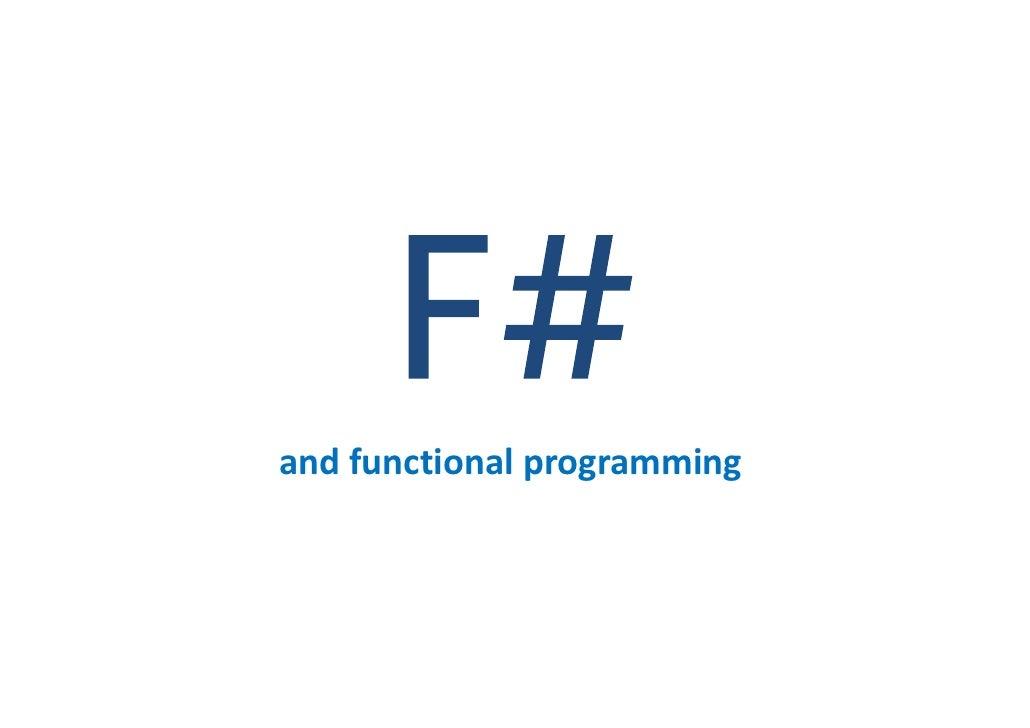 andfunctionalprogramming